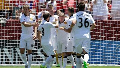 Video Gol Keputusan Perlawanan Manchester United vs Barcelona 26 Julai 2015