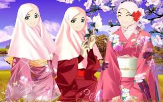 Gambar Kartun Lucu Islam