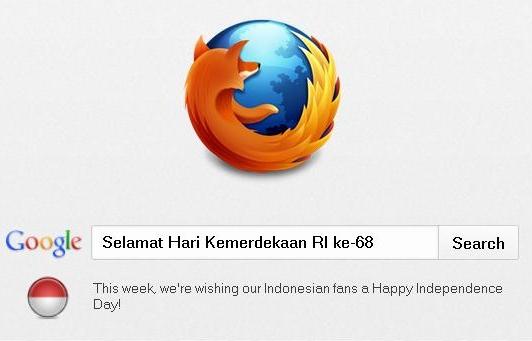 Selamat Hari Kemerdekaan RI Ke-68