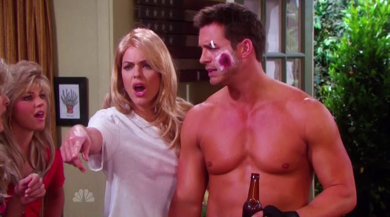 Eric Martsolf Shirtless on Days of Our Lives 20110704