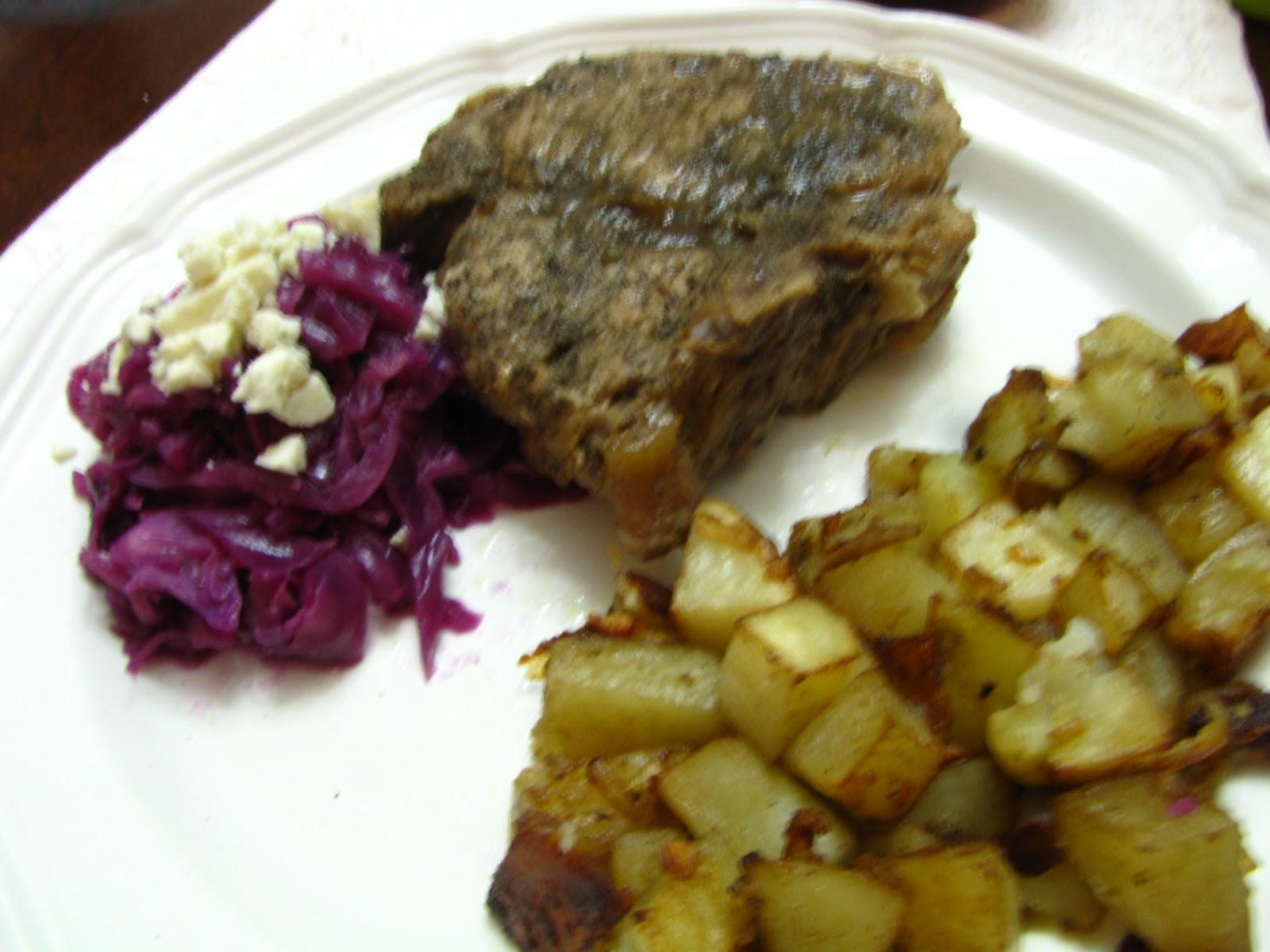 Deployment Kitchen 365: Sage Rubbed Pork Chops and Wild ...