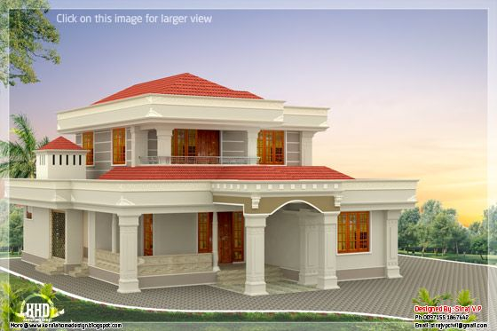 my dream home design. Beautiful Indian home design in 2250 sq feet  appliance