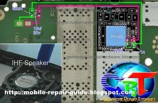 nokia c2-01 loudspeaker problem