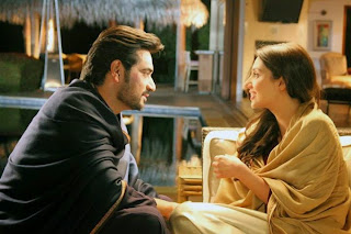 Mahira Khan's Bin Roye Behind The Scene Pictures