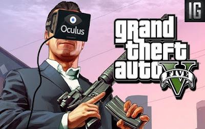 GTA 5 Sanal Gerçekliğe Taşındı!