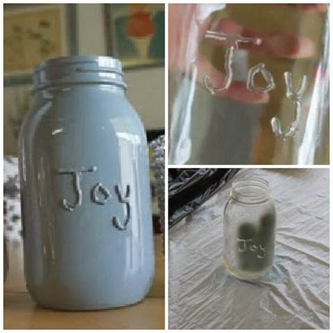 Simple Message Mason Jars