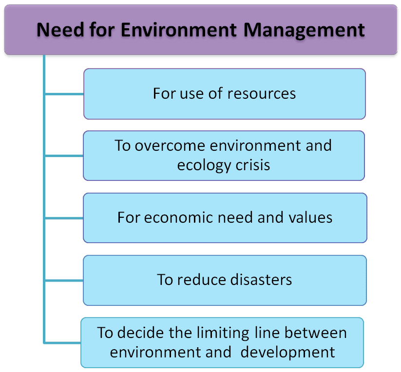Need for environment management