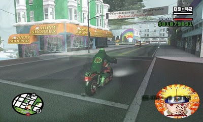 Free Download GTA San Andreas Shinobi World | Naruto Version Full Terbaru