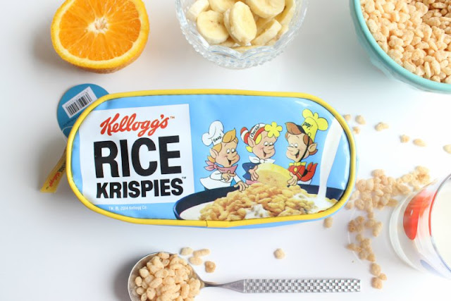 Kellogg's Cereal Make Up Bags