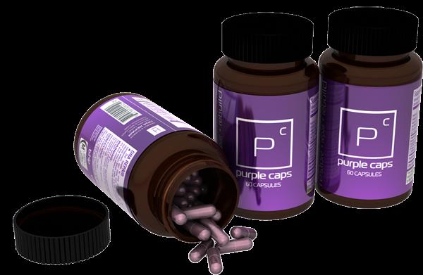 Hình ảnh Purple Caps tăng cân - purple bhip global