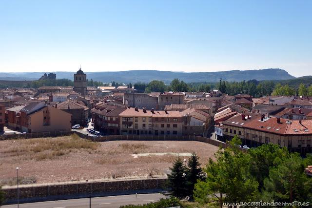 Aguilar de Campoo desde la ermita de Sta. Cecilia
