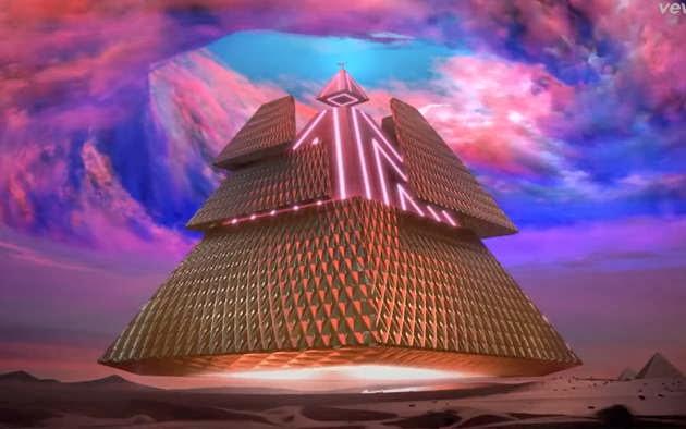 Katy Perry video Dark Horse triangulo  illuminati