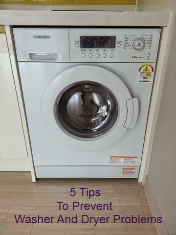 Five Ways to Prevent Washer and Dryer Problems
