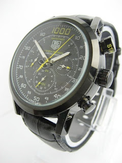 jam tangan tag heuer | Pria | Kulit | Otomatis | chrono | murah | Grosir