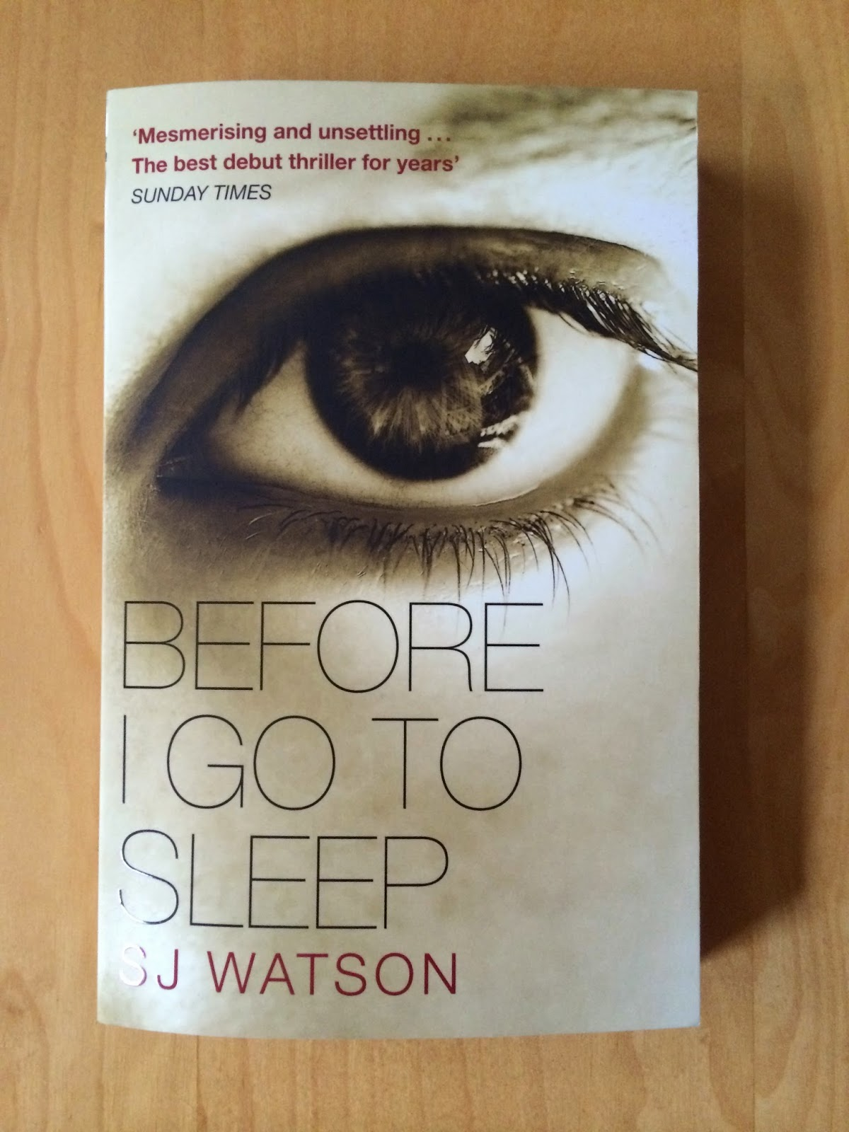 before i go to sleep book pdf