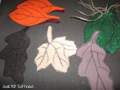 Types of Felt Leaves for Home Decor