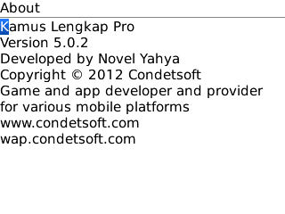 Kamus Lengkap Pro v5.0.2