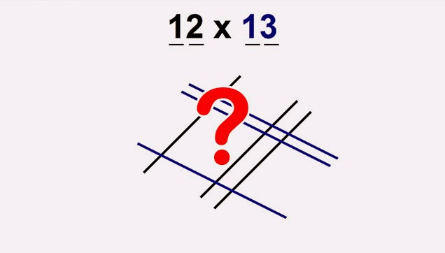 Drawing Lines For Multiplication : Learn how to multiply numbers by quot drawing lines bubblefeed