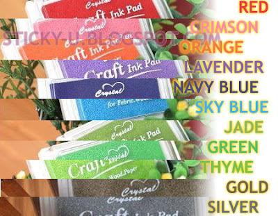 013: Nikita's Rainbow Ink Pads