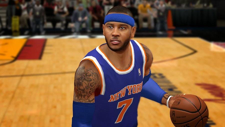 NBA2K Melo 2014-15 Knicks