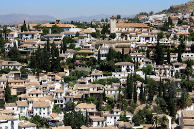 Albaicin from La Alhambra de Granada