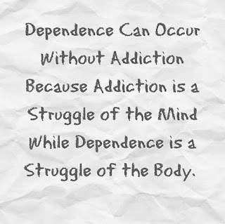 Addiction Quote Dependence