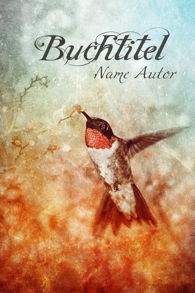 Premade Buccover, Kolibri, Fantasy