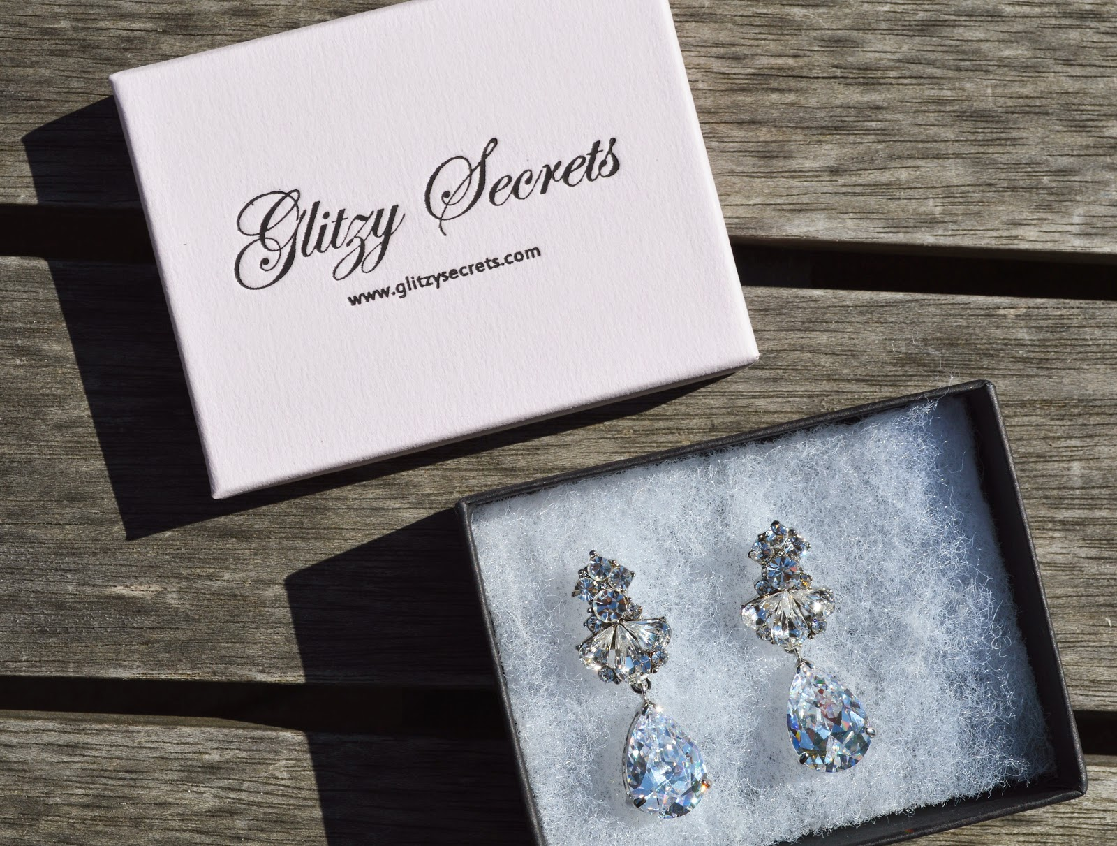 Glitzy Secrets Crystal Collection Precious Heiress Earrings