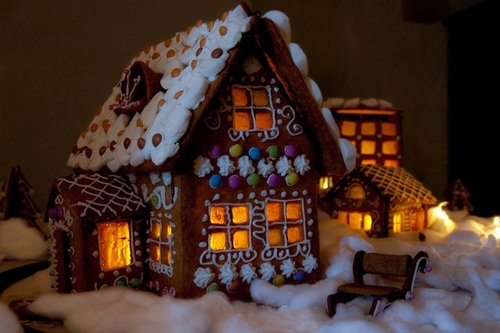 Christmas found gingerbread house ideas and inspiration for Gingerbread house inspiration