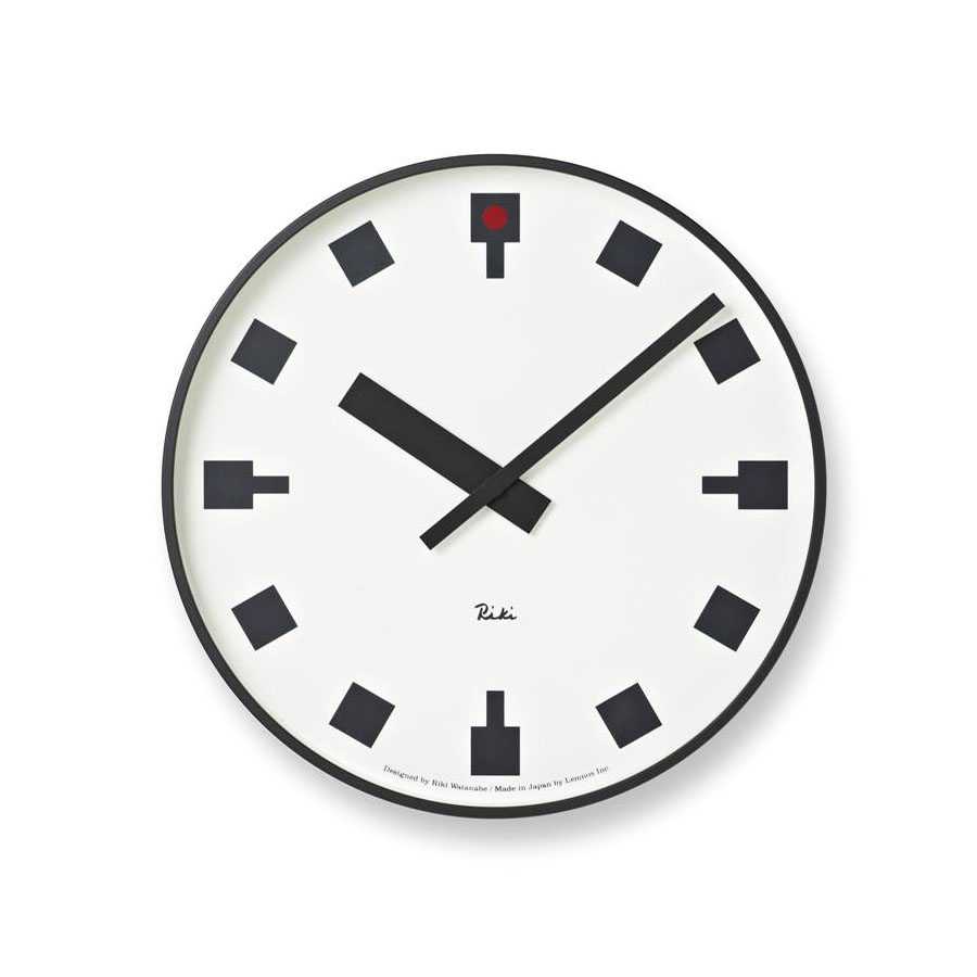 Japanese Railway Clock By Riki Watanabe Modern Wall Clock Modern Design B