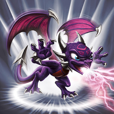 skylanders spyro and cynder in love  Skylanders - Spyro's adventure