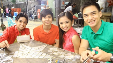 Aryana lead stars Francis, Paul, Ella and Dom