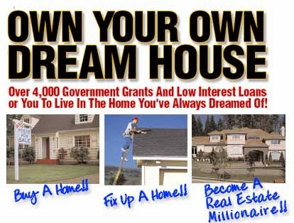Free Grant Money to Buy a Dream House or to Fix up a Home. Click Below picture to apply.