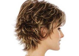 Pixie Short Layered