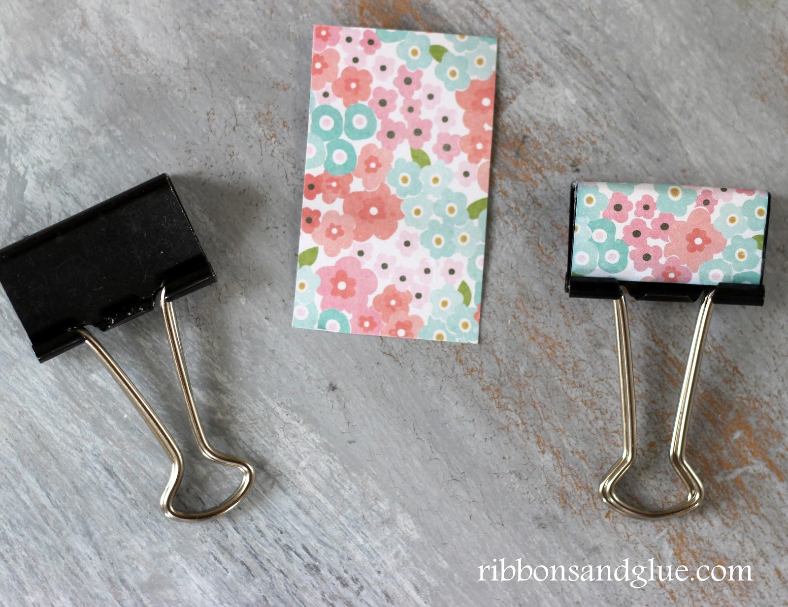 DIY Metal Clip Makeover