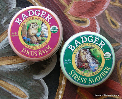 Badger Balm: Stress Soother and Focus Balm