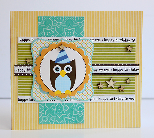 SRM Stickers We've Got Your Border Birthday Card Juliana Michaels