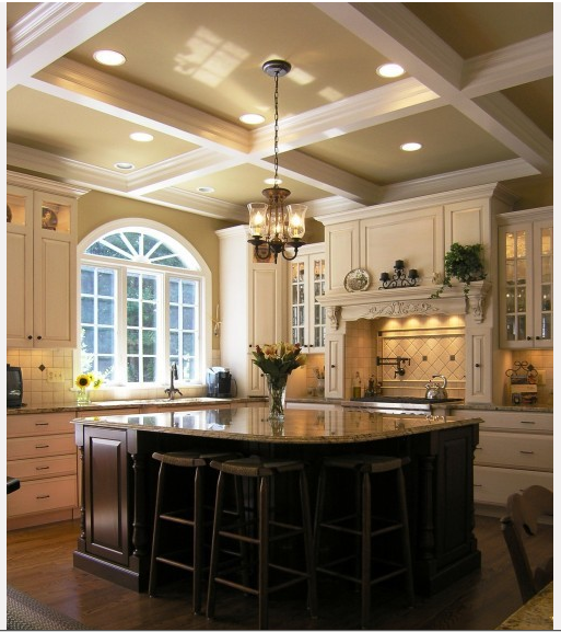 Coffered Ceilings : Living Quarters on a Dime