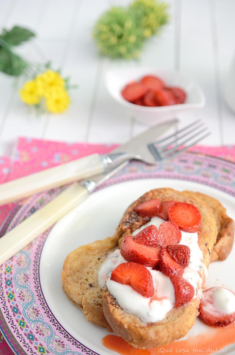 Qu cosa tan dulce arme riddere cinnamon toasts con - Preparar desayuno romantico ...