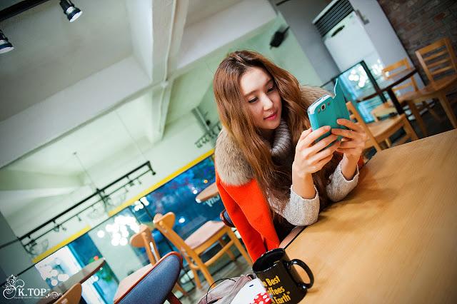 Choi Yu Jung - Outside Photoshoot