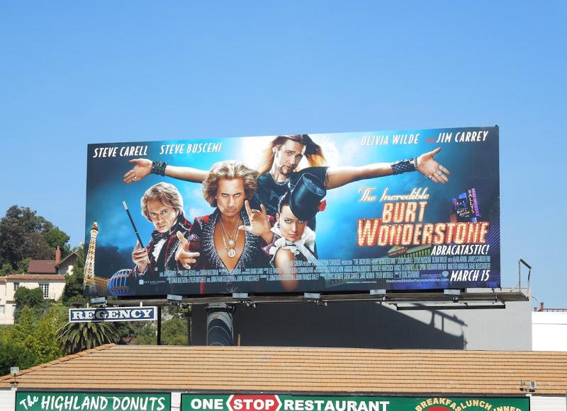 Burt Wonderstone movie billboard