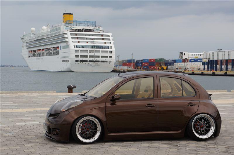 Nissan March (Micra) K12, najlepsze miejskie samochody, małe auta, japońskie, po tuningu