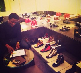 Obafemi Martins shows off his wealth In New Photos