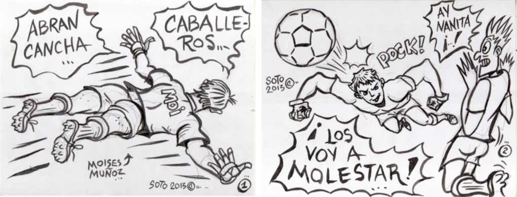 Futbol Caricatura Fotos de archivo e imágenes 123RF - Imagenes De Futbol En Caricatura