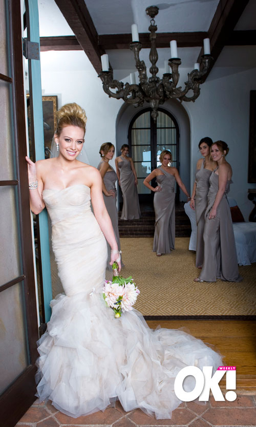 ... have been at Hilary Duff's wedding. I googled. She was a bridesmaid.