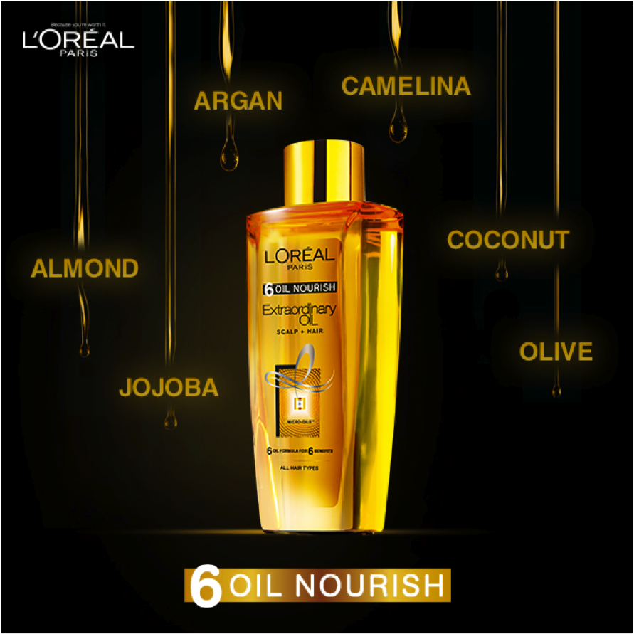 L'Oreal Paris presents 6 Oil Nourish