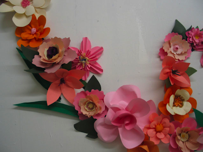 Paper flower sculpture dwell with dignity paper flower sculpture mightylinksfo