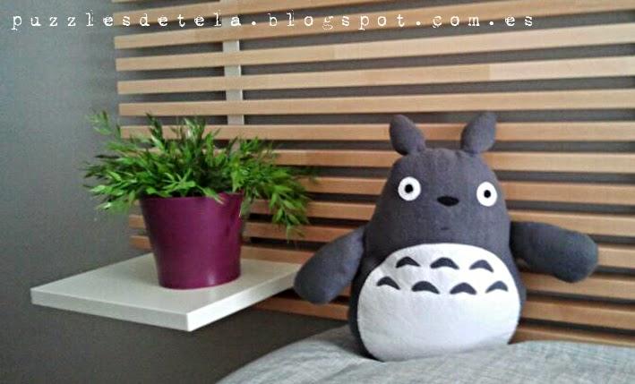 Totoro, muñecos patchwork, patchwork, muñeco de Totoro, regalos cumpleaños, ideas para regalar,