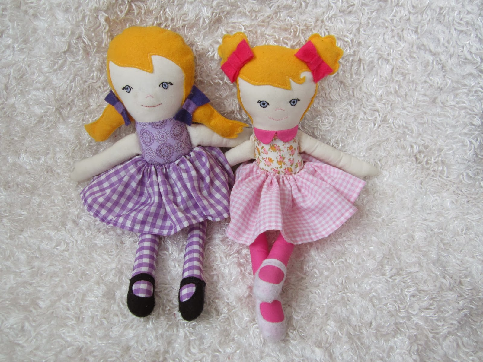 Old Fashioned Homemade Dolls