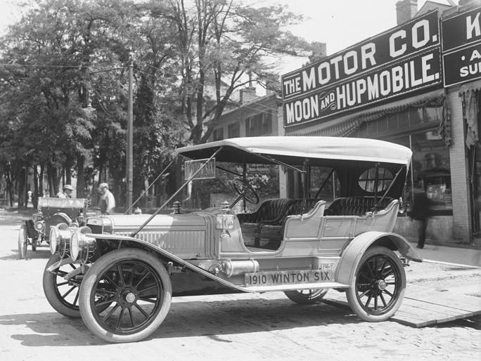 Vintage Motoring The Winton Six